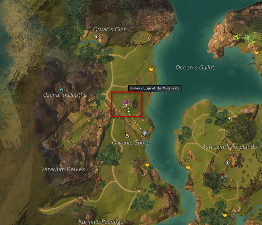 Gw2 live on the edge edge of the mists achievement guide 4