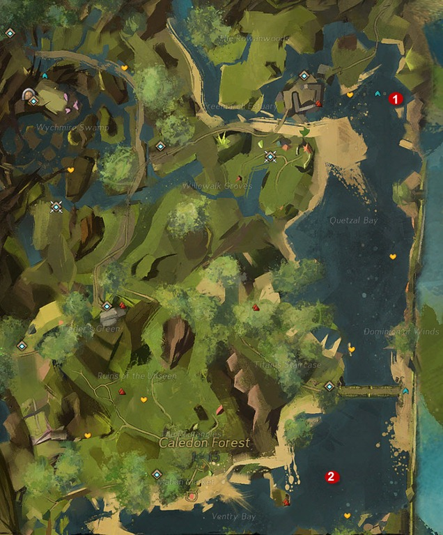 gw2-toxic-krait-historian-achievement-guide-caledon-forest-map